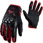 Fox Racing Bomber Gloves Red, XXL