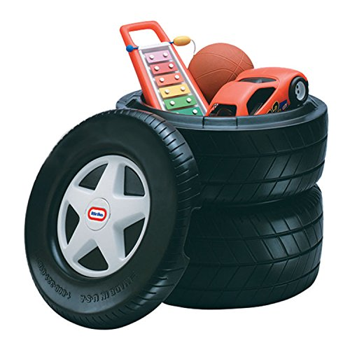 Classic Racing Tire Toy Chest (Classic Car Furniture compare prices)