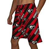 NCAA GEORGIA BULLDOGS Mens Cotton Sleepwear / Pajama Shorts XL Multicolor at Amazon.com