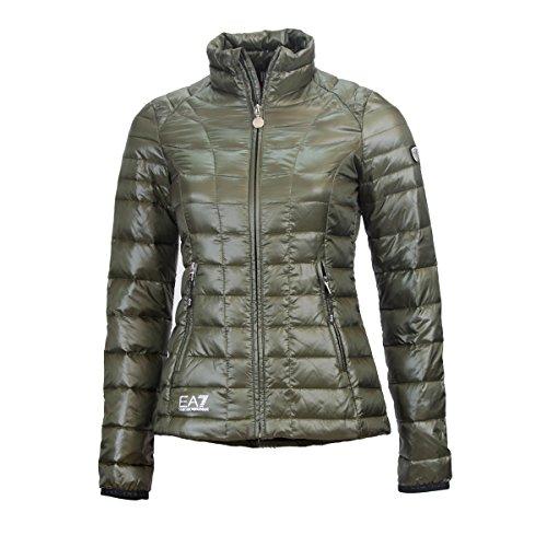 Piumino 100gr donna giorgio armani EA7 novità 2016 (s, verde)