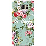 Tecozo Designer Printed Back Cover For Samsung Note 5, Samsung Note 5 Back Cover, Hard Case For Samsung Note 5, Case Cover For Samsung Note 5, (Be Happy Design, Animals & Nature)