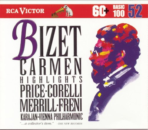RCA Victor Basic 100, Vol. 52- Bizet: Carmen (Highlights)