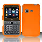 For Samsung S390g (StraightTalk/Net 10/Tracfone) Rubberized Cover - Orange