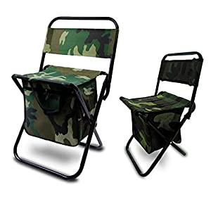 Bundle 2 pack camo lightweight folding chair for Fun chairs for adults