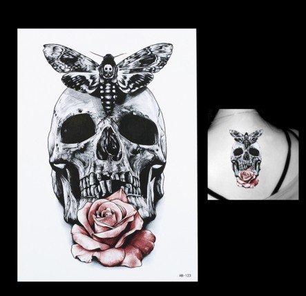 tattoo-temporar-arm-oberarm-tattoo-aufkleber-rosetotenkopf-motte-auch-fur-korper-schulter-rucken-bei