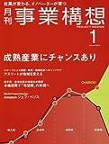 月刊事業構想 (2016年1月号 大特集「成熟産業にチャンスあり」)