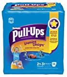 Pull-Ups Training Pants Learning Designs, 2T - 3T, Boy, 56 Count (Pack of 2)