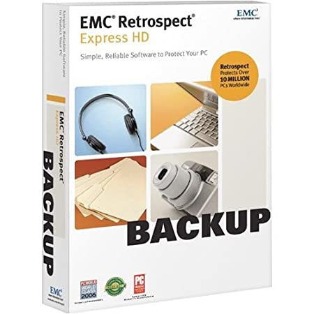 EMC Retrospect Express HD  [OLD VERSION]