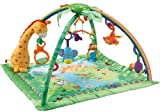 51DflHSxbxL. SL160  Fisher Price Rainforest Melodies and Lights Deluxe Gym