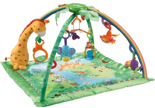 Fisher-Price Rainforest Melodies y lmparas de lujo Gimnasio