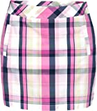 Lija Women's Vibrant Collection Plaid Skort