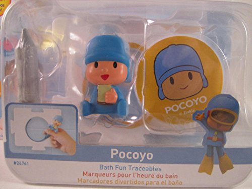 Pocoyo & Friends with Pocoyo Bath Fun Traceables Figure Toy - 1