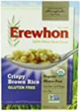 Erewhon Crispy Brown Rice Cereal, Gluten Free, Organic, 10-Ounce Boxes (Pack of 6)