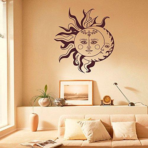 crescent-sun-and-moon-ethnic-sunshine-wall-decal-art-sticker-vinyl-bohemian-wall-decal-ethnic-sticke