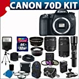 51DfmYpT7BL. SL160  Canon EOS 70D 20.2 MP Digital SLR Camera with Dual Pixel CMOS AF  (Body Only)