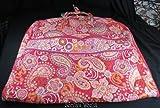 VERA BRADLEY Garment Travel Bag – RASPBERRY FIZZ Pattern, Bags Central