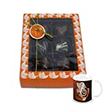 Chocholik Belgium Chocolate Gifts - Attractive Treat Of Chocolate Hearts With Diwali Special Coffee Mug - Diwali...