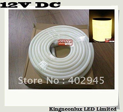 10M Per Roll Led Neon Flex Warm White 12V Dc Led Soft Neon Light Led Neon Rope Light 80Pcs/M Dhl Express