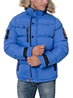 Geographical Norway Chaqueta Guateada Clement (Azul / Rojo)