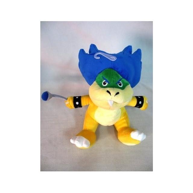 Sanei Super Mario Plush Series Ludwig Von Koopa Plush Doll, 7