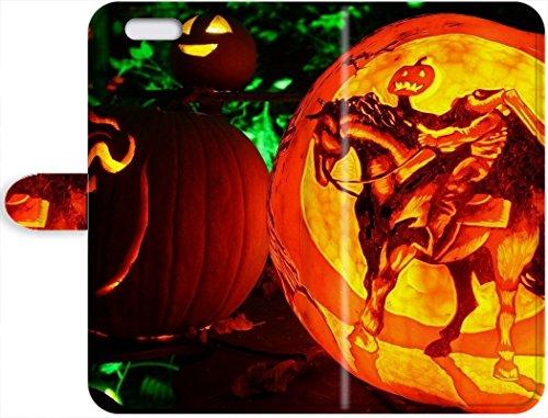 New Cute Halloween Wallpaper iPhone 7 phone Leather Case Cover (Cute Halloween Wallpaper Iphone)