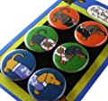 Dachshund Sweater Silly Dog Magnet Set of 6