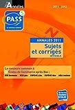 echange, troc Studyrama - Les annales PASS 2011-2012