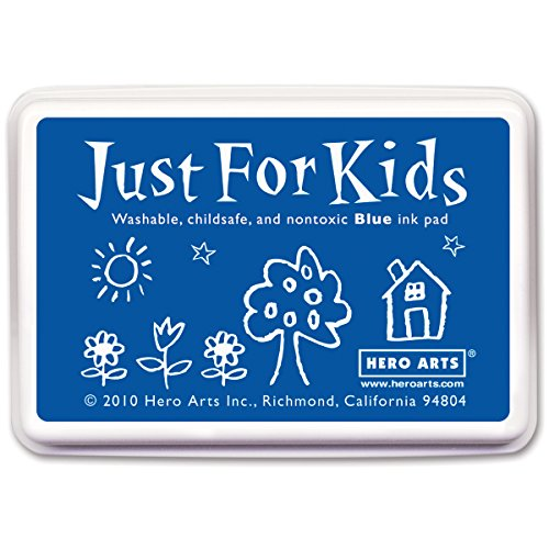 Hero Arts Rubber Stamps Just for Kids, Blue (Non Toxic Stamp Pad compare prices)
