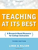 Teaching at its best : a research-based resource for college instructors /