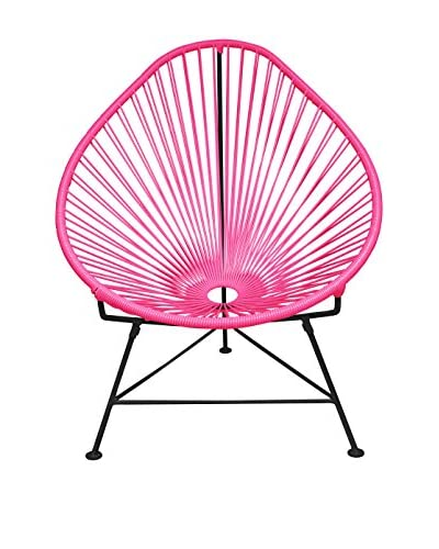 Innit Designs Acapulco Chair, Pink/Black