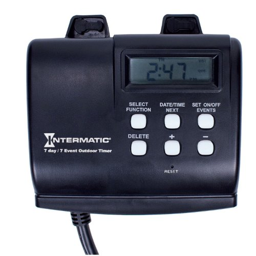 Intermatic Hb880R 15-Amp Seven Day Outdoor Digital Timer