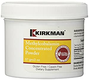 Kirkman Labs Methylcobalamin Concentrated Powder 2 oz
