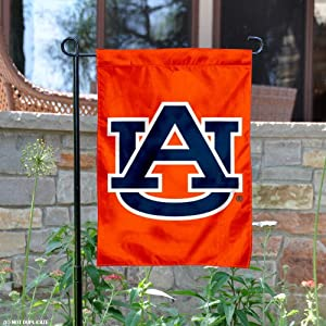 Click here to buy Auburn Tigers Orange Garden Flag and Yard Banner by College Flags and Banners Co..