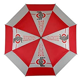Ohio State Golf Umbrella, WindSheer II - Auto Open
