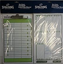 Spalding Dry Erase Football Coaching Board  Coaches Board - Size 16quot x 95quot