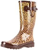 Western Chief Womens Tight Leopard Rain Boot