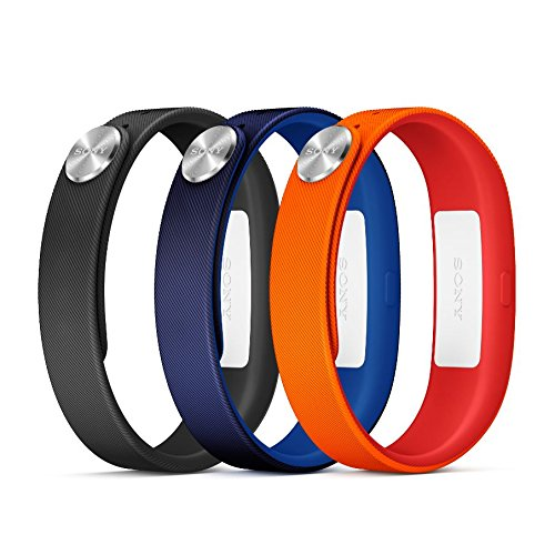 Sony-Mobile-Large-A1-SmartBand-Wrist-Straps-RedBlueBlack