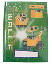 Disney Pixar Wall E Themed Personalized Stationery Wall E Diary/Journal By National