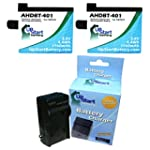 2x Pack - GoPro Hero4 Battery + Charg...