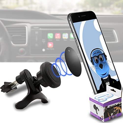 Case Compatible Multi-direction (Use with or without your existing case!) Black Magnetic Air Vent In Car Holder for LG GM360 Viewty Snap (Lg Gm360 Case compare prices)