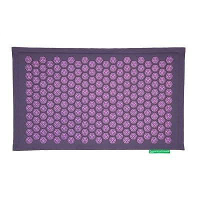 Pranamat ECO - Grey Violet & Violet Lotuses