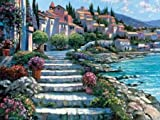 Steps of St. Tropez by Behrens, Howard - Fine Art Print on PAPER : 24 x 18 Inches