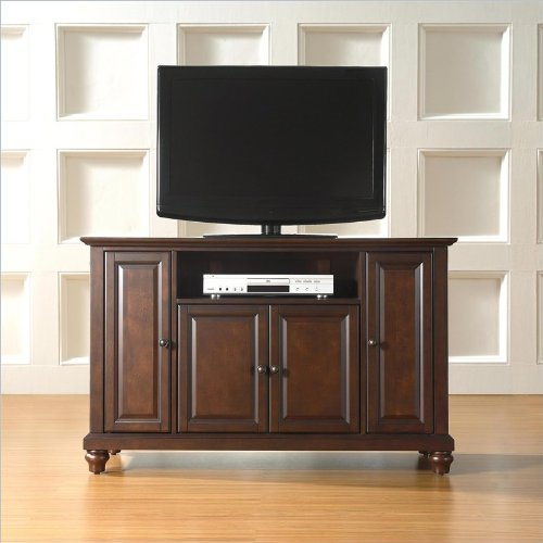 Crosley Furniture Cambridge 48-Inch Tv Stand, Vintage Mahogany
