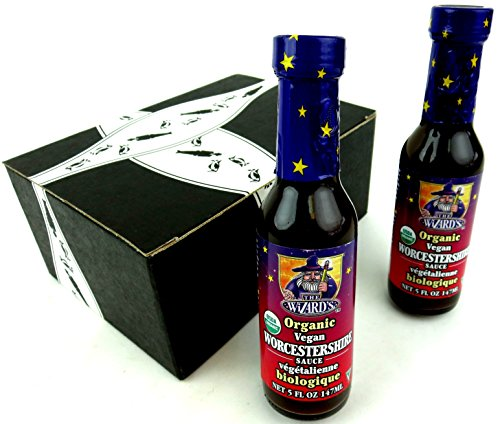 The Wizard's Organic Vegan Worcestershire Sauce,