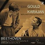 ベートーヴェン:ピアノ協奏曲第3番&シベリウス:交響曲第5番
