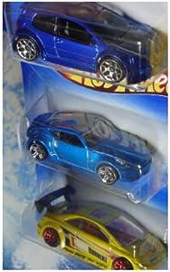 Hot Wheels Vw Golf gTi - Nissan 370z - Honda Civic Si 1/64 Scale