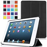 MoKo Ultra Slim Lightweight Smartshell Stand Case For Apple IPad Mini 7.9-Inch Tablet BLACK (with Smart Cover...