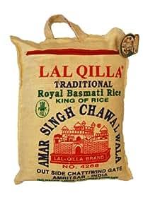 Amazon Com Basmati Rice Lal Quila 160 Ounce Basmati
