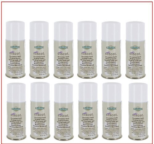 Petsafe SSSCAT Refill Spray 12 Pack. (Ssscat Spray Refills compare prices)