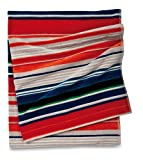 Citta Design 'Bohemian' Designer Oversized Striped Beach Towel, Beautiful Indian Cotton, 38x70 inches